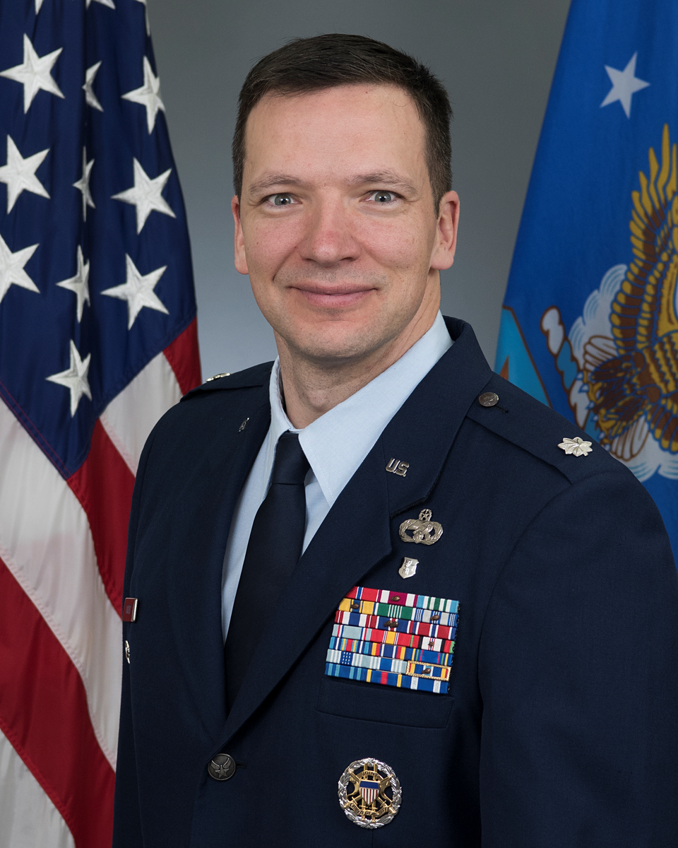 Lt Col Carter Biography Picture